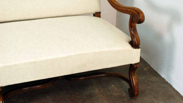 Very Large Louis Xiv Style Carved Wood Sofa Stdibs