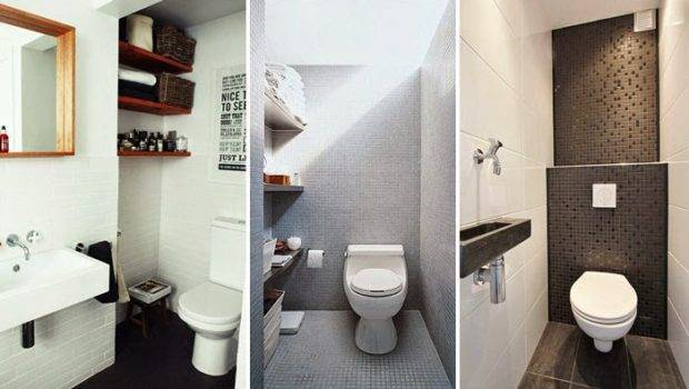 Very Small Toilets Designed Tiny Spaces Interior Design