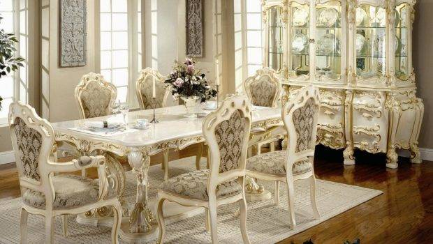 Victorian Dining Room Design Cultured Marble Top