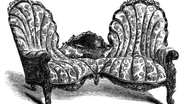 Victorian Furniture Sofa Chair Clip Art Old Design Shop