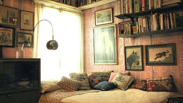 Vintage Bedroom Decorating Interior Home Design Room