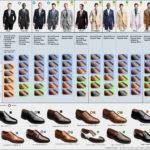 Visual Guide Matching Suits Dress Shoes Business Insider