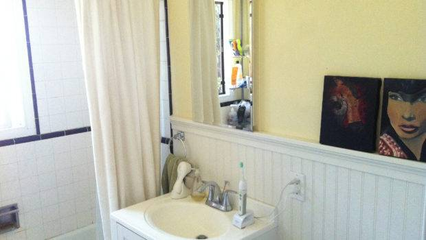 Wainscoting Bathroom Home Pinterest