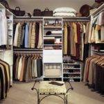 Walk Closet Designs Man Classic Theme