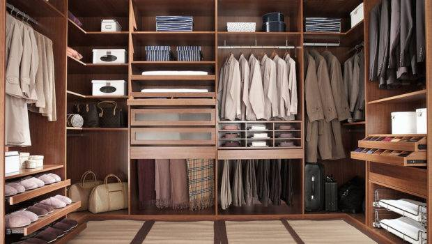 Walk Closet Men Masculine Design