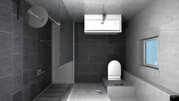 Walk Shower Enclosure Space Efficient Solution Small
