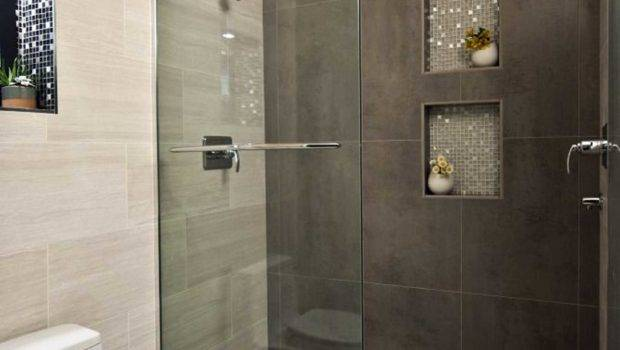 Walk Showers Small Bathrooms Spaces Also