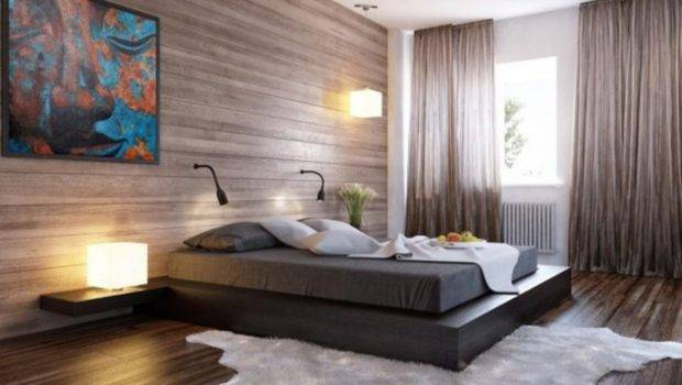 Wall Accent Exotic Bedroom Paint Ideas Couples White Rug Black