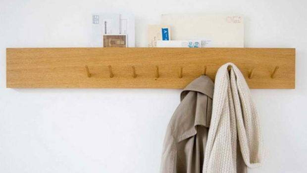 Wall Clothes Hanger Slot