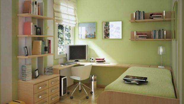 Wall Colors Small Rooms Green
