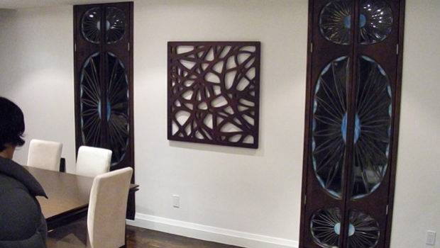 Wall Decor Wood Grasscloth