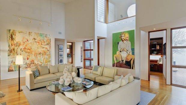 Wall Decorating Ideas Decorate Interiors High Ceilings