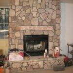 Wall Decors Rustic Fireplace Design Interior Stone