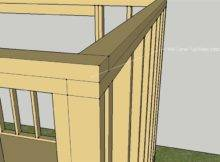 Wall Framing Corner Small Solar Home Exterior