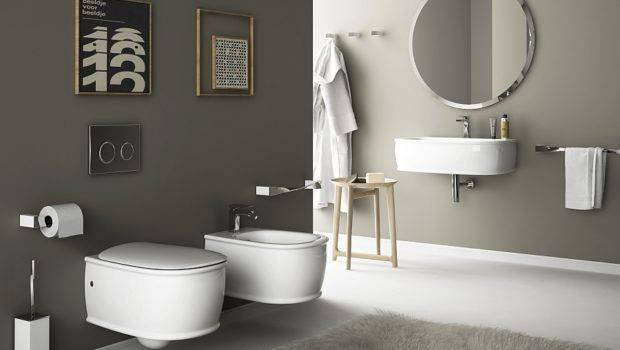 Wall Hung Sanitary Fixtures Small Space Conscious Bathroom Designs