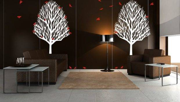 Wall Interior Ideas Cutouts Design Decals