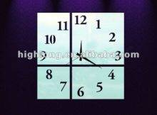 Wall Mirror Clock Different Shape Buy