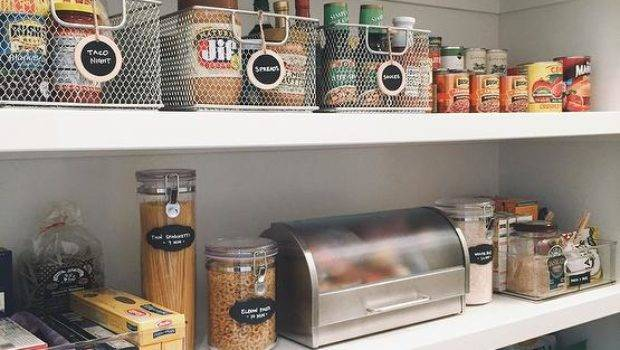 Wall Mount Pantry Snack Shelves Metal Coffee Pod Bins