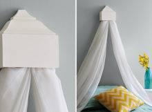 Wall Mounted Bed Curtain Holder