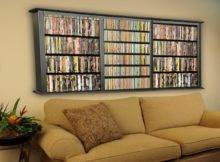 Wall Mounted Bookcase Fabric Sofa Design Stroovi