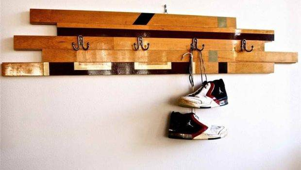 Wall Mounted Coat Hooks Decorative Rack Clothes