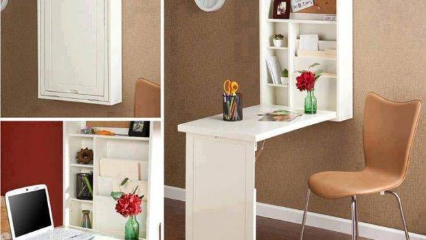 Wall Mounted Desk Small Spaces