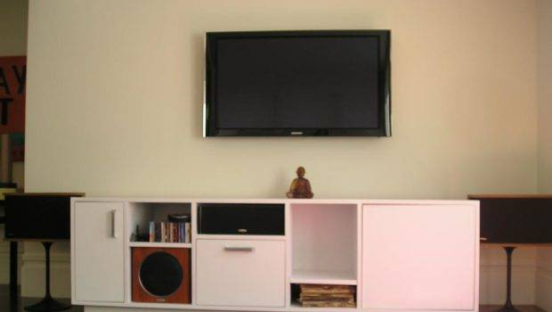 Wall Mounted Flat Screen Infinity Home Solutions White