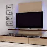 Wall Mounts Flat Screen Lcd Television Decorative