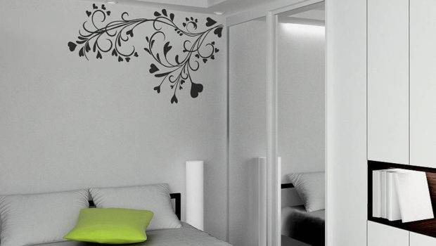 Wall Paint Designs Black White