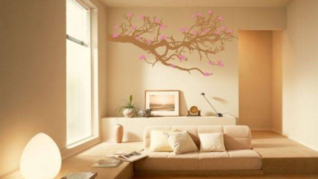 Wall Painted Design Painting