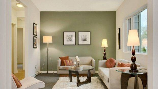 Wall Painting Color Ideas Room Comfortable Small Living