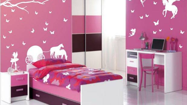 Wall Stickers Girls Room Decorating Ideas Home