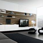 Wall Unit Mount Ideas Spacious Living Room