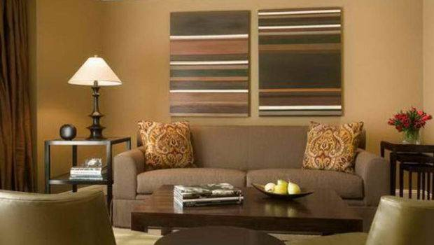 Walls Different Colors Painting Living Room