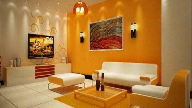 Walls Different Colors Photos Painting Living Room