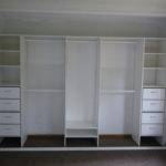 Wardrobe Designs Precious Built Storage Organization