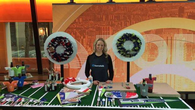 Watch Hometalk Showcase Super Bowl Decorating Ideas Today Show