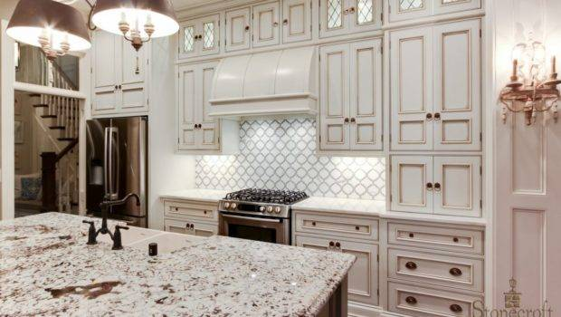 Ways Create White Kitchen Backsplash Interior