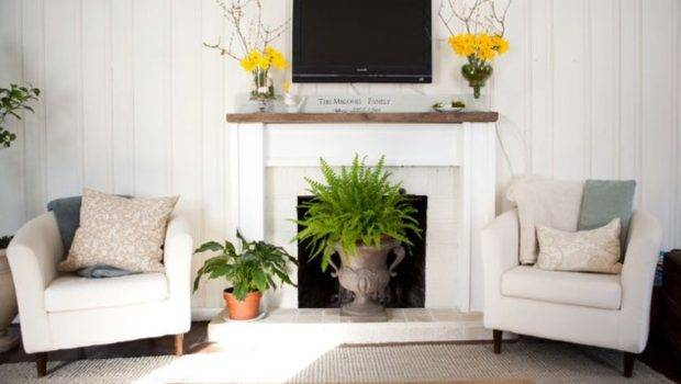 Ways Decorate Your Fireplace Summer Since Won Need