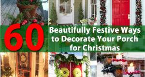Ways Decorate Your Porch Christmas Diy Crafts
