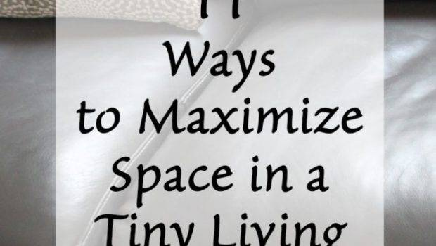Ways Maximize Space Tiny Living Room