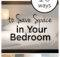 Ways Save Space Small Bedroom