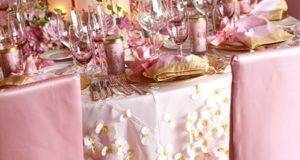 Weddings Pink Gold Wedding White