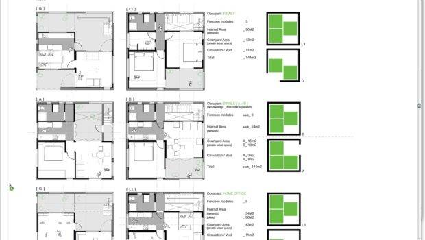 Weeks Design Modular Apartment Plans