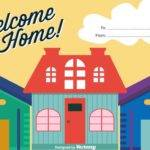 Welcome Home Vector Art