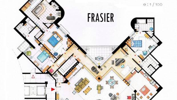 Well Known Floorplans Your Favorite Television Displays