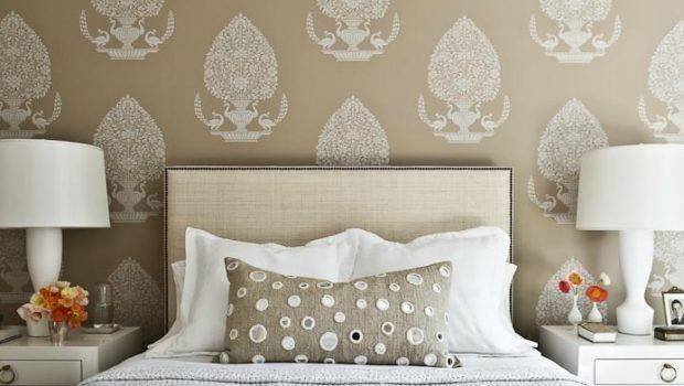 West Elm Nailhead Upholstered Headboard Transitional Bedroom Manny
