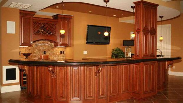 Wet Bar Designs Small Space Hanging Lamp