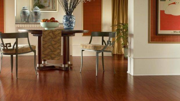Which Better Laminate Hardwood Flooring Round Dining Table