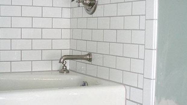 White Bathroom Tile Grey Grout Ideas